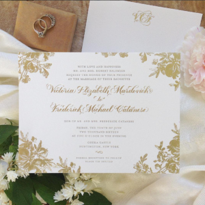 Custom wedding invitations, Bat Mitzvah invitations, & stationery designs in Long Island, New York. Professional showroom in Melville, NY.